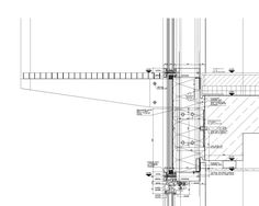 Vertical Section Through CW-Façade