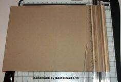 File Folder Card mit passendem Umschlag / Anleitung/Workshop Tutorial - bastelzauberin