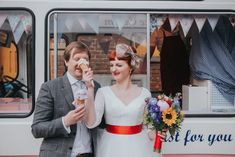 Retro East Yorkshire Wedding featuring Kitty & Dulcie's Baroness Pearl Wedding dress and Retro Red Sash as featured on Rock N Roll Bride Rockabilly Wedding, East Yorkshire, Wedding Photography Inspiration, Retro, Wedding Dresses, Kitty, Color, Sash, Brides