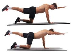 Use these four simple exercises to carve out your core in no time