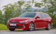 2017 Kia Optima Sportswagon First Drive: Another Wagon Stuck in Europe Kia Optima, First Drive, Car And Driver, Station Wagon, Cool Cars, Bmw, Vehicles, Europe, Autos