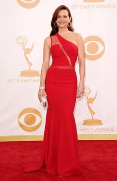 Emmy Awards 2013: Carla Gugino in Georges Chakra