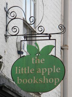 Pub and Shop Signs - the little apple bookshop ♥♥