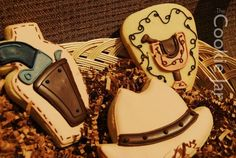 COWBOY Cookies  1 Doz Decorated Sugar Cookies by batches on Etsy, $29.00