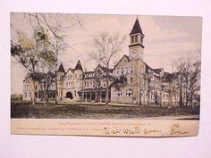1906 Postcard Indian Territory Cherokee Female Seminary Tahlequah Now Oklahoma