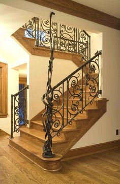 Handmade Forged Steel Railing by Tyler Studios Limited | CustomMade.com: