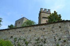 We tour the Castle of Gropparello in the Piacenza hills where an Italian family lives the medieval way.