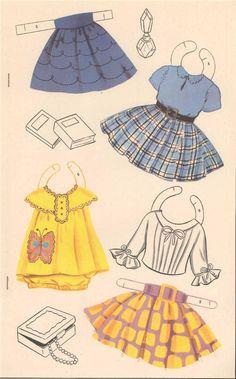 Happy Birthday Paper Dolls, Saalfield #2718 (7 of 8)