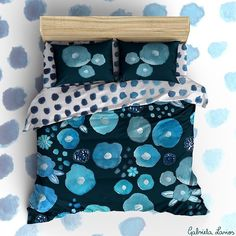 New bedding and textile designs in the pipeline :) #homedecor #bedding #bedroomdecor #textiles #patterns #fabric #florals #flora #bluecolor