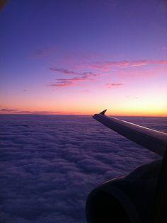 Sunset landing @Lindsay Dillon Roberts