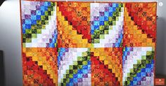 This classic quilt is definitely intricate and intimidating! In the video below, however, we learn that the Bargello quilt block isn't as difficult as it may seem.