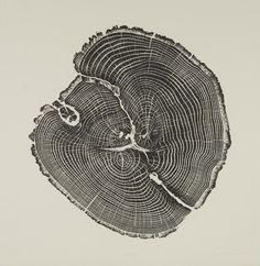 Black Oak- BRYAN NASH GILL woodcuts (so many beautiful prints)