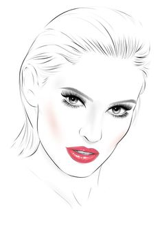 #Facechart #face #bjanka #loreal