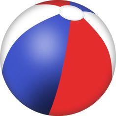 beach ball png vector clipart summer clip pinterest vector rh pinterest com summer beach ball clipart