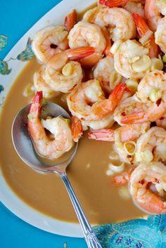 Skillet Shrimp Dinner