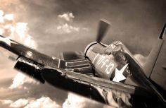 Beautiful photo of an F4U Corsair