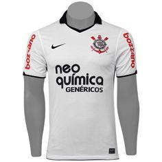 97a8660a25 Camisa Nike Corinthians I 2012 s nº - Sem estrelas