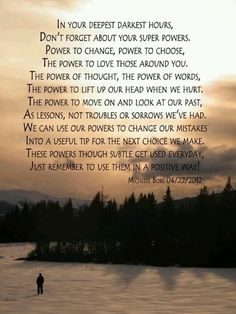 The Power of thy self Quotes To Live By, Me Quotes, Powerful Words, Note To Self, Love Words, Spiritual Awakening, Super Powers, In This World, Life Lessons