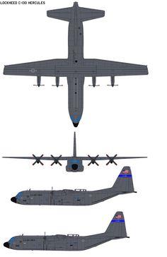 Lockheed C-130 Hercules by bagera3005 on DeviantArt