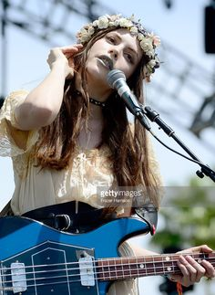 Musician Charlotte Kemp Muhl of The Ghost of a Saber Tooth Tiger performs onstage during day 1 of the 2015 Coachella Valley Music & Arts Festival (Weekend 1) at the Empire Polo Club on April 10, 2015 in Indio, California.