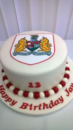 Bristol City Football Club birthday cake