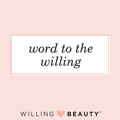 Top 3 Reasons to Pre-Enroll RIGHT NOW with Willing Beauty!! 1) Save your place in line!! Beauty Advisors will be invited in by the order in which they pre-enroll, so to ensure that you are open for…