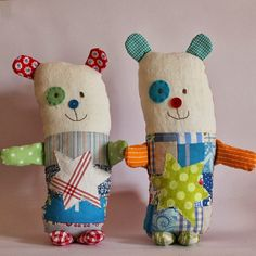 Can't help myself I had to make some more Lulu bears. Thanks Lulu for your gorgeous design. These are made with patchwork, applique and...