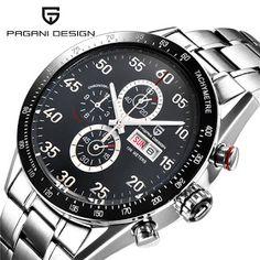 Watches Men Luxury Brand Multifunction PAGANI DESIGN Quartz Men Sport Wristwatch Dive 100m Military Watch Relogio Masculino (1760005315)  SEE MORE  #SuperDeals