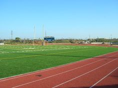 Cooper Field football, soccer, and state of the art Olympic sized track.