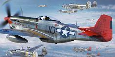 P-51D Mustang 'Lollipoop' by Adam Tooby