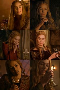 """The Queen took a flagon of sweet plum wine from a passing servant girl and filled Sansa's cup. """"Drink,"""" she commanded coldly. """"Perhaps it will give you courage to deal with truth for a change. Game Of Thrones Rpg, Game Of Thrones Poster, Sansa Stark, Cercei Lannister, Queen Cersei, Cersei And Jaime, Abba Mania, Got Dragons, Good Movies To Watch"""