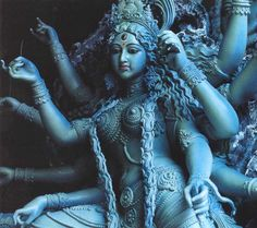 KALI-MA Kali is the divine qutub; erect upon the inert corpse of Shiva, She generates the impulse of life, of the manifest moment; Sacred Feminine, Divine Feminine, Hindu Art, Mother Kali, Divine Mother, Buddha, Kali Goddess, Mother Goddess, Gautama Buddha