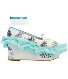 SUPERSWEET x moumi Maui Frilly Wedge (Samples)