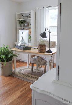 Inspiración Deco: Un espacio de trabajo en casa de estilo clásico renovado | Decoración