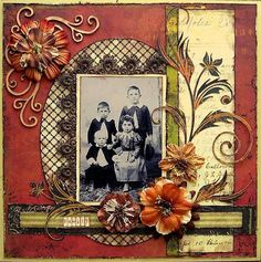 with all the old family photos I've been scanning this is great inspiration for bringing them to life!