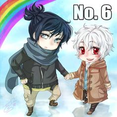 No.6: NezuShi-Chibis of hetero by EvaAngel.deviantart.com on @DeviantArt