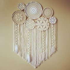Dream Catcher Wall Hanging Doily Dream Catcher Boho