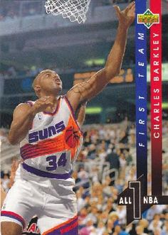 1993-1994 93-94 Upper Deck #AN 1 All-NBA Charles Barkley ---> shipping is $0.01 !!!