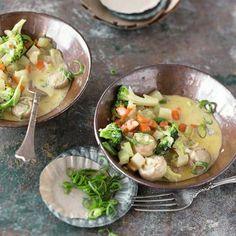 Gemüsecurry mit Kokosmilch