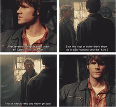 [SET OF GIFS] 1.17 Hell House #S1 #SPNS1 #Supernatural