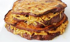 Pancakes, French Toast, Breakfast, Recipes, Food, Morning Coffee, Essen, Pancake, Eten