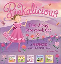 The Pinkalicious Take-Along Storybook Set: 5 Pinkamazing Storybook Adventures: Victoria Kann: 9780062410801: Amazon.com: Books