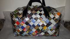 The weekend bag by myecobags on Etsy. An everyday bag that will carry all the essentials giving you a modern and unique style guaranteed to make some heads turn.