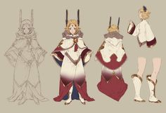 Chronos Concept from Final Fantasy Dimensions II