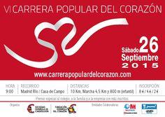 Otro año más. VI Carrera Popular del Corazón.