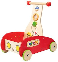 Get ready world! With the best-selling Wonder Walker from Hape toys your child will be ready to walk and roll! Setback wheels provide a sturdy base for kids to pull up and the unique design makes pus...