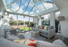 Though the winter months youre wriggling around underneath your two pairs of socks, looking for that extra bit of heat, you can always ensure that you're that little bit more cosy having added some sumptuous and warm decor and additions to your new conservatory
