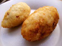 Kipes de arroz con queso crema
