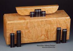 Wood box - Michael Hamilton & Dee Roberts hamiltonroberts.com