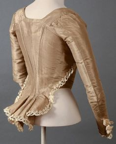 Lovely lace trimmed woman's bodice.